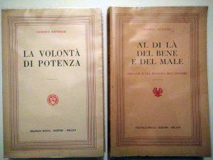 Quattro libri di Friedrich Nietzsche