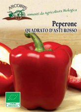 Semi di Peperone Quadrato d'Asti Rosso
