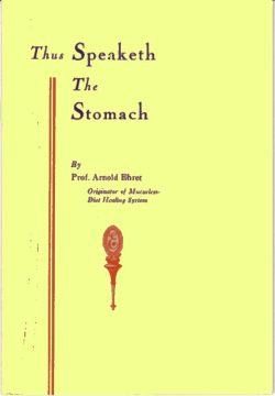 thus speaketh the stomach