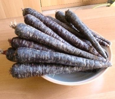 Succo di carota nera