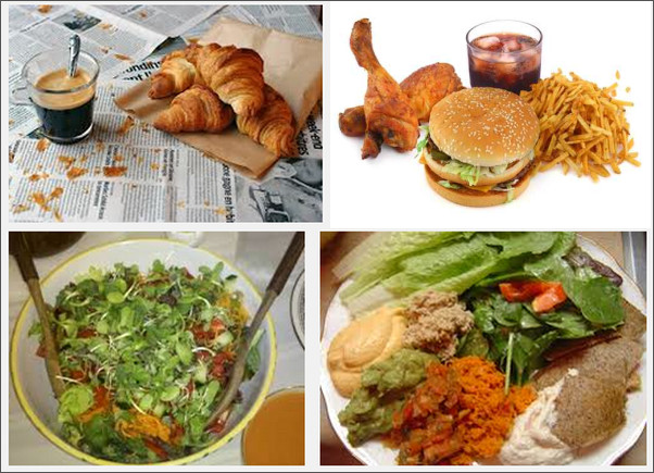 Tre pasti al giorno