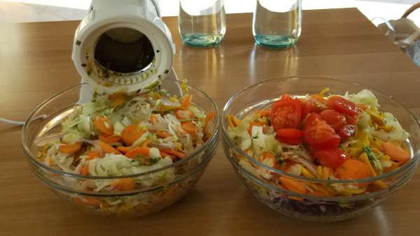 zuppa verdure tagliate