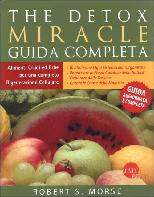 The Detox Miracle – Guida Completa – Libro