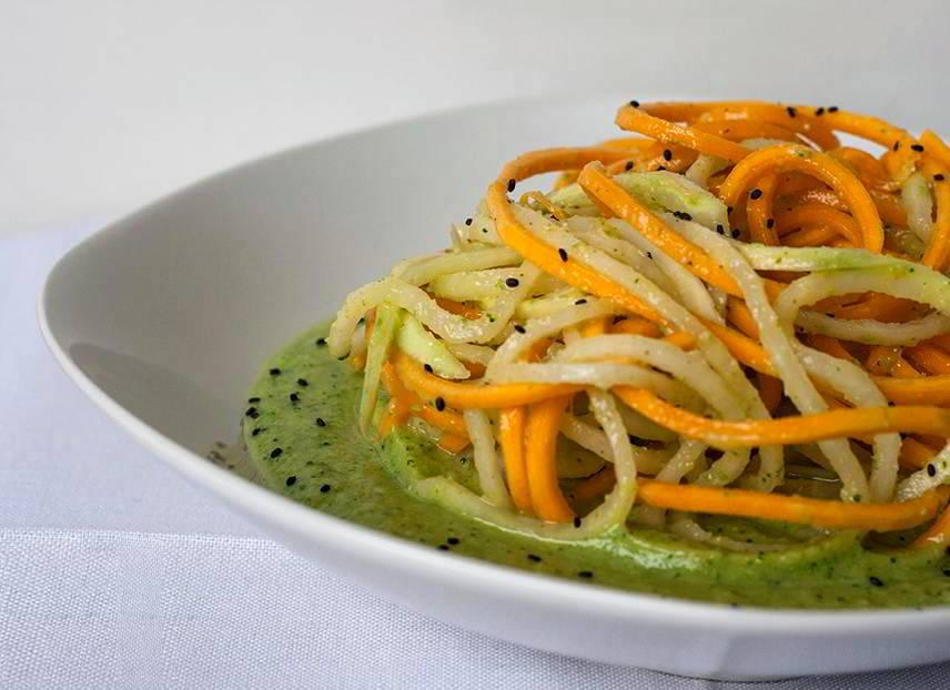 Spaghetti Paglia e Fieno