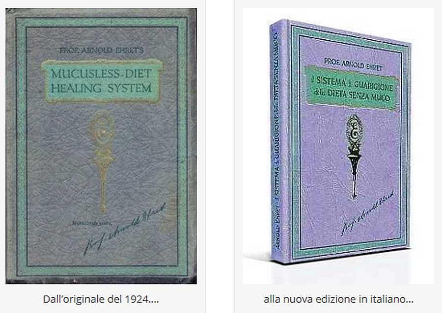 I libri originali di Arnold Ehret