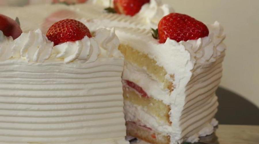 torta cremosa e candida