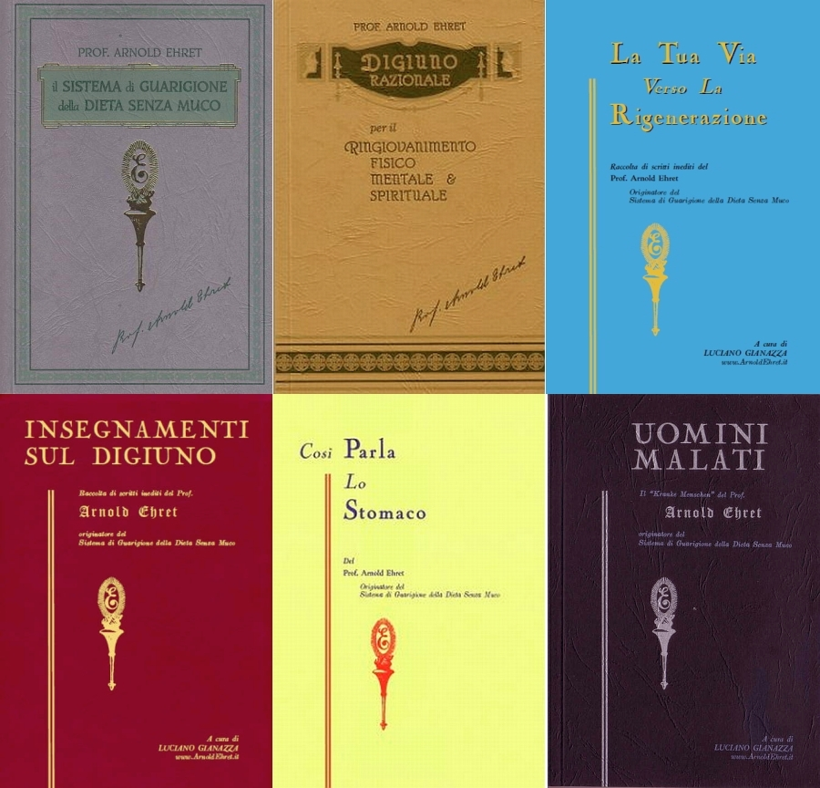 libri originali di arnold ehret